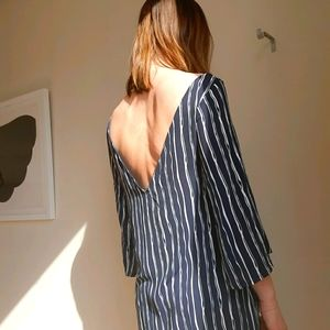 Emma Knudsen low-back summer dress